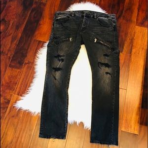 Cult Of Individuality Greaser Straight Fit Jeans